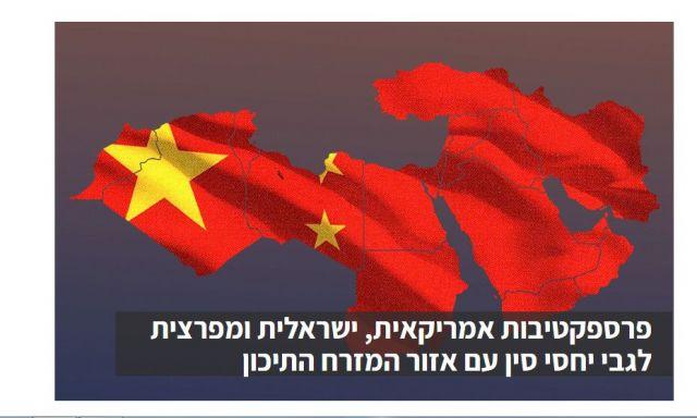 إسرائيل تحلم بالاستفادة من  دول الخليج كجسر يخدم علاقاتها الاقتصادية مع الصين
